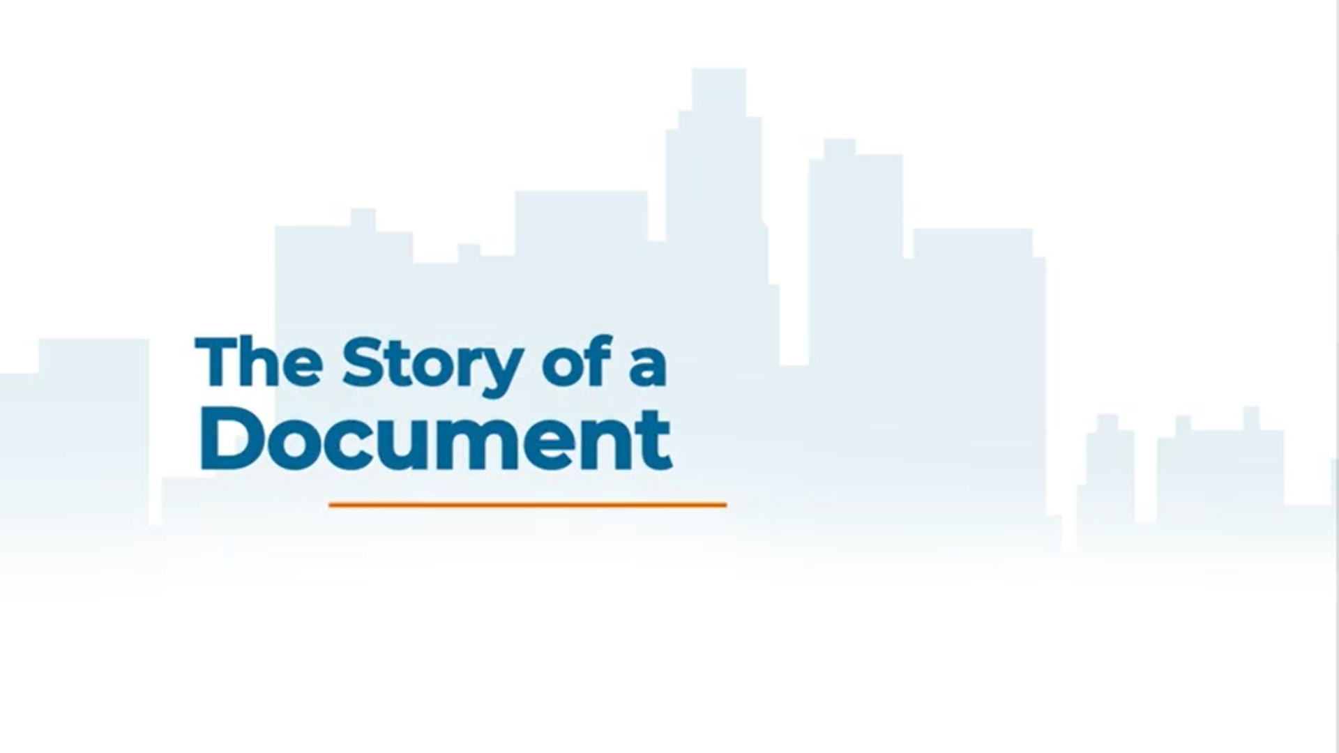 Document-centric Process Automation Software - Features